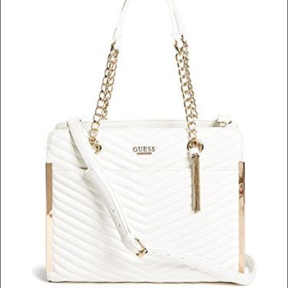 bde650bd3a5 Guess Bags   Mila Quilted Satchel   Poshmark